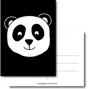 Pandabeer kaart