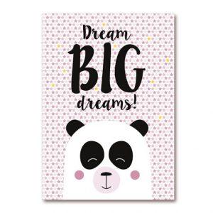 Panda poster meisjes
