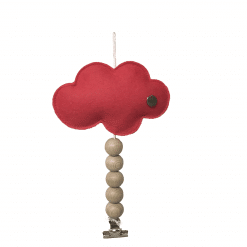 Koop je kaarthanger wolk framboos hier