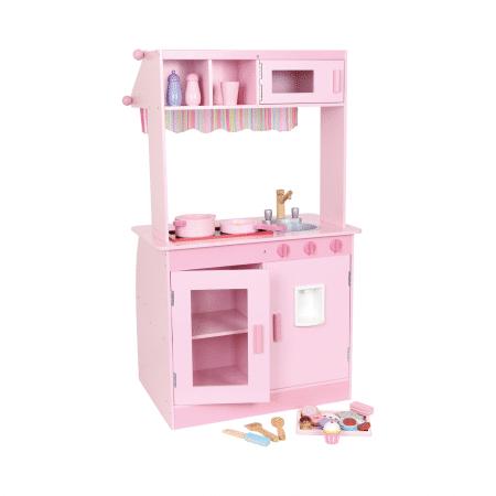 Roze speelkeuken