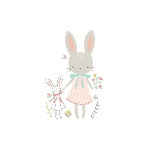 Kaart Bunny Friends