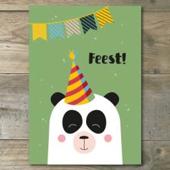 Uitnodigingen Panda