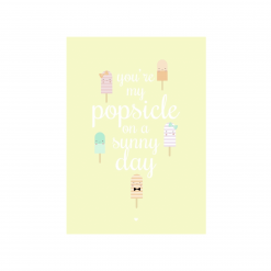 Popsicle kaart