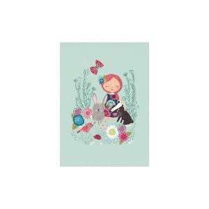 Kaart meisje