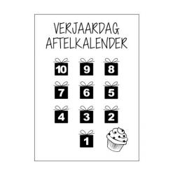 Aftelkalender verjaardag