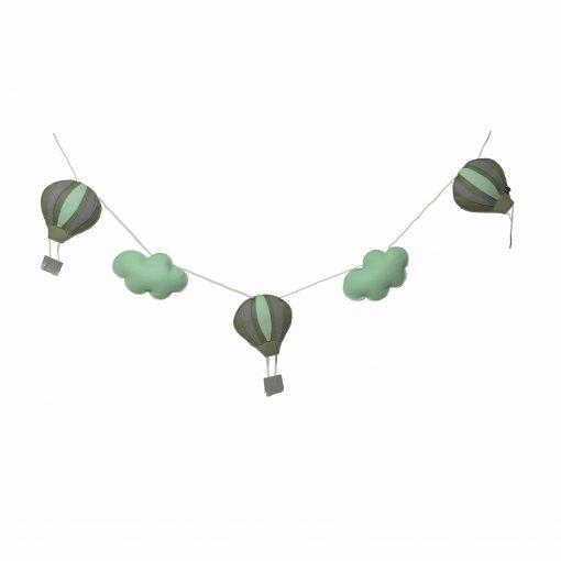 Slinger luchtballon groen artic mint