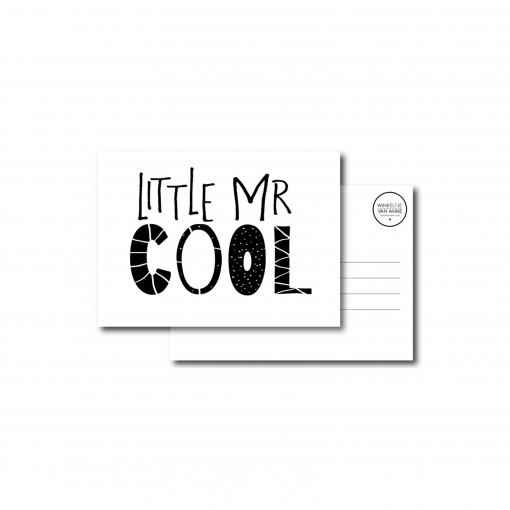 Little mr Cool kaart