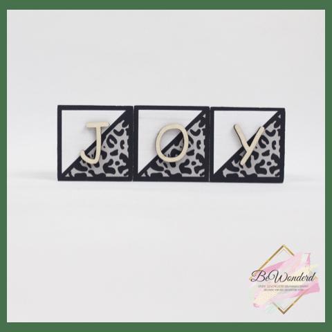 Naamblokken panter - leopard - naamblok - houtblok naam - kinderkamer decoratie - baby kamer decoratie - kraamcadeau