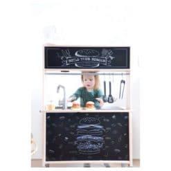keukensticker - ikea keukentje - stickers om te speen