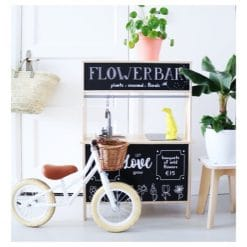 Ikea Duktig keukentje, beplakt met flowerbar keukensticker