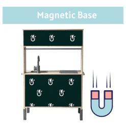 magnetische basis - keukensticker ikea keukentje - handig - stickers om te spelen