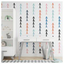 Arrows - Behang kinderkamer - Pijlen - Kleurrijk - Decoratie - Kids Ware
