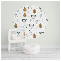 Behangcirkel - Behang - Kinderkamer - Decoratie - Kids Ware