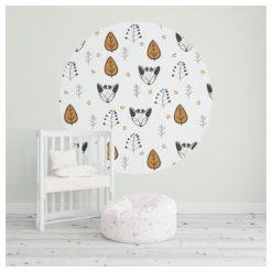 Behangcirkel - Behang - Kinderkamer - Decoratie - Kids Ware