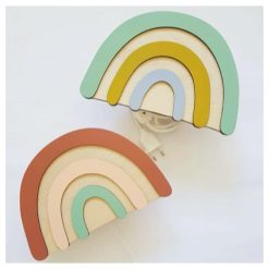 Wandlamp - Hout - Verlichting - Kinderkamer - Decoratie - Kids Ware