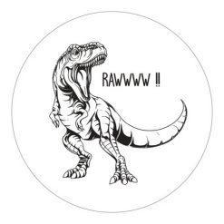 Poster - Forex - Rond - Dino - Kids Ware - Decoratie