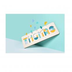 Naampuzzel - Houten Puzzel - Gepersonaliseerde puzzel - hou van Hout - Kids Ware