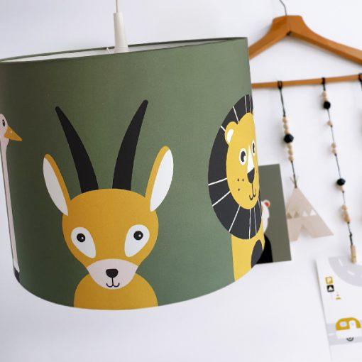 Hanglamp Safari Dieren