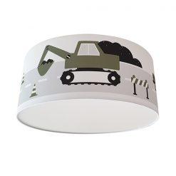 Kinderkamer plafondlamp voertuigen