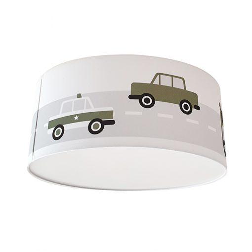 Kinderkamer Plafondlamp met voertuigen
