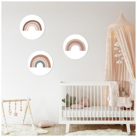 Kinderkamer Muur met muurcirkels