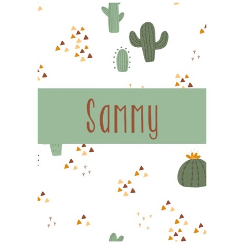 Naamposter Jungle Cactus