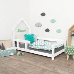 Kinderkamer met bedhuisje Poppi