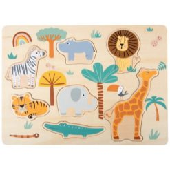 Safari vormen puzzel