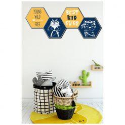Kinderkamer met hexagons Best Kid