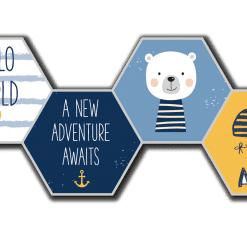 Ahoy! Adventure hexagons kinderkamer