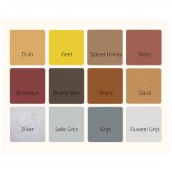 Kleurenkaart Geel/Bruin