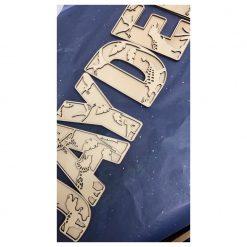 Dino Letters - Houten letters Dino