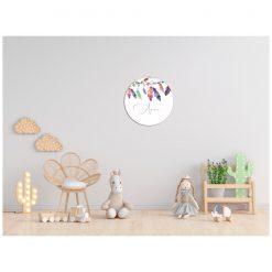 Kinderkamer Muur met bohemian muurcirkel
