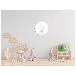 Kinderkamer muur met Dromenvanger muurcirkel