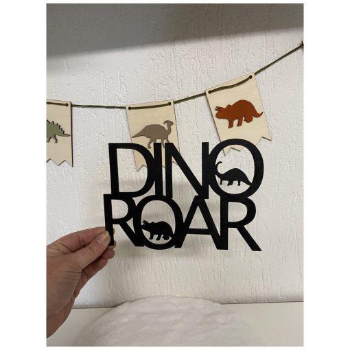 Houten Woord Dino Roar