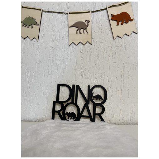 Dino Roar Houten Deco woord