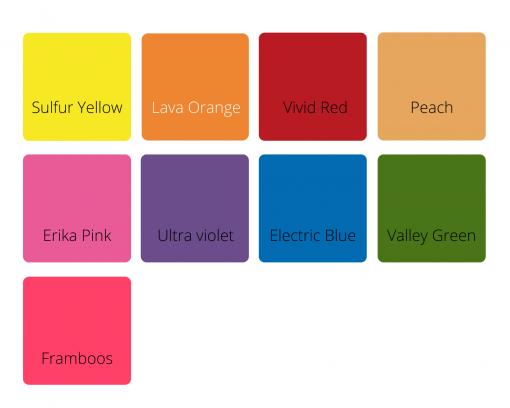 Kleurenkaart Kids Ware