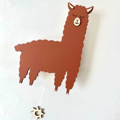 Muziekdoosje Alpaca - Verslingerd aan hout