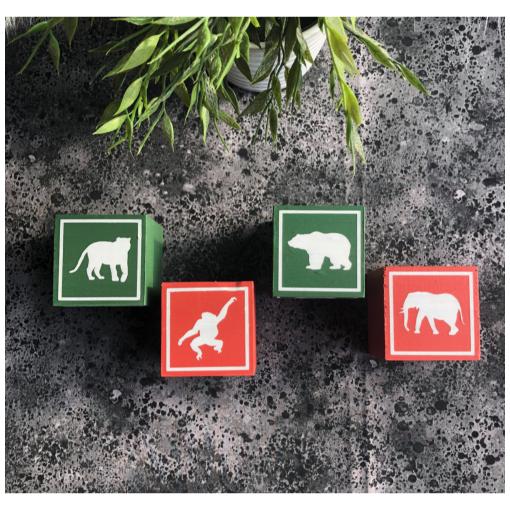 Naamblokken Animals