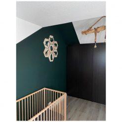 Kinderkamer met Houten Jungle Hexagons
