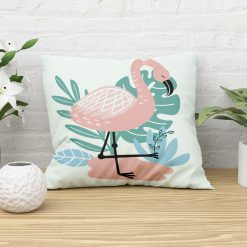 Sierkussen kinderkamer flamingo stijl