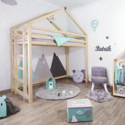 Kinderkamer met bedhuisje Loft - Toppy