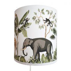 Wandlamp kinderkamer jungle